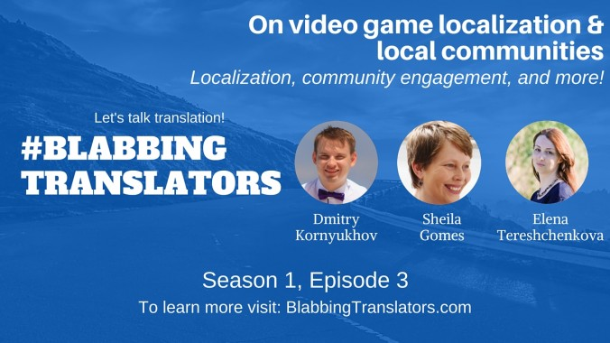 #BlabbingTranslatos On video game localization & local communities feat Sheila Gomes - YouTube Cover