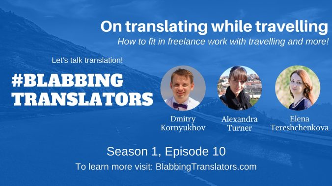 #BlabbingTranslators On translating while travelling feat. @Alexa4912 - YouTube Cover