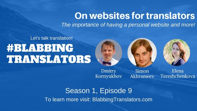 #BlabbingTranslators - YouTube Cover