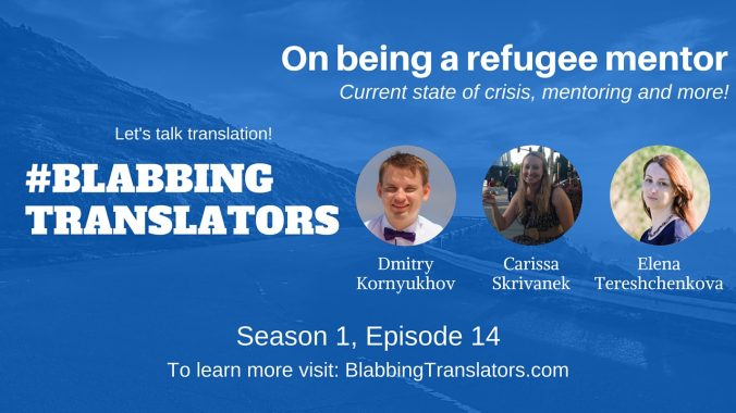#BlabbingTranslators On being a refugee mentor feat. @CarissArabi - YouTube Cover