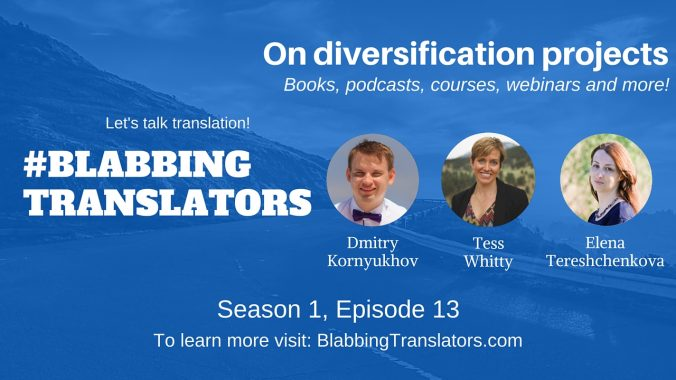 #BlabbingTranslators On diversification projects feat. @Tesstranslates - YouTube Cover