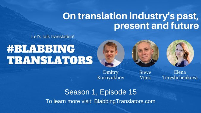 #BlabbingTranslators On translation industry's past, present and future feat. @VitekSteve - YouTube Cover